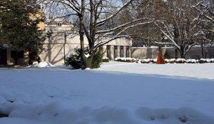 Ferrarischule im Winter
